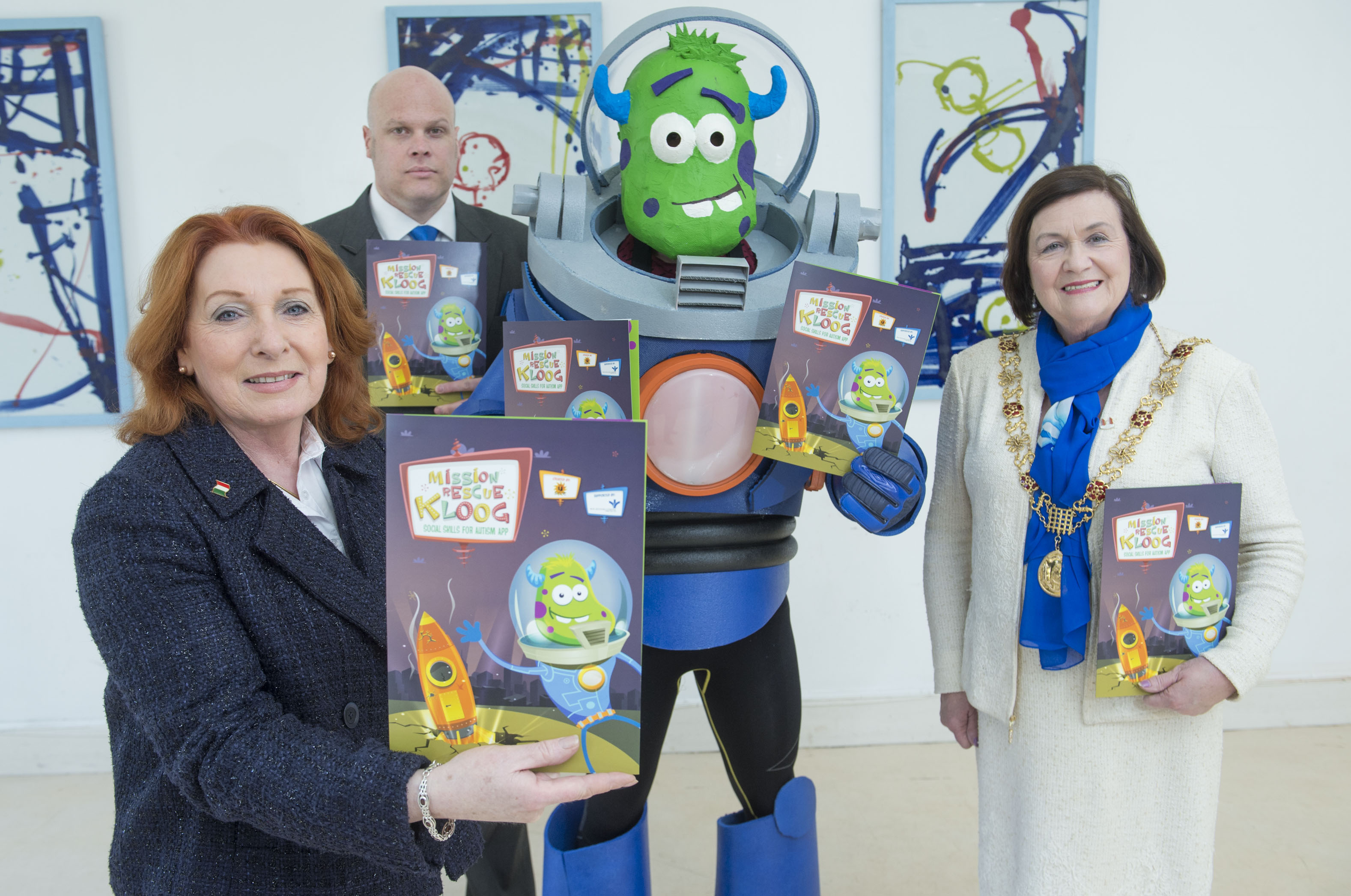 Lord Mayor of Cork Launches Social Skills App